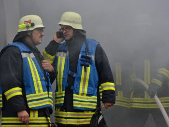 Brand im Rahmhaus