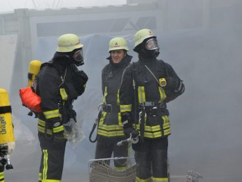 Großbrand in Lautersee