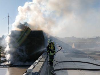 Brand bei Krumbach Mineralbrunnen